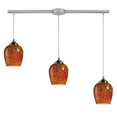 Claudio 3-Light Linear Pendant
