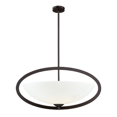 Vuelta 6-Light Inverted Pendant Finish: Aged Bronze