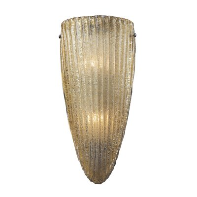 Luminese 2-Light Wall Sconce Finish: Aged Bronze