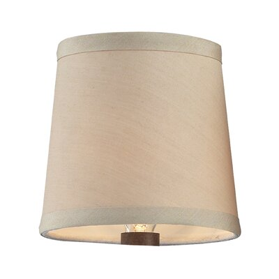 Vuelta 4.25 Drum Candelabra Shade Finish: Cream
