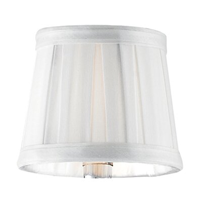 Vuelta 4.25 Drum Candelabra Shade Finish: White