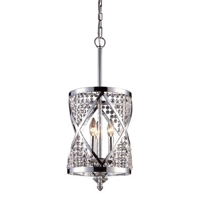 Kolar 3-Light Crystal Chandelier