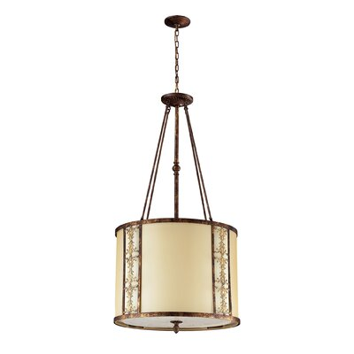 Freeport 8-Light Drum Pendant