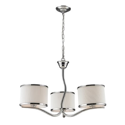 Freeport 3-Light Drum Chandelier