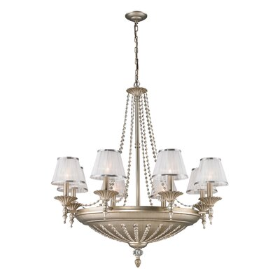 Freeport 14-Light Shaded Chandelier