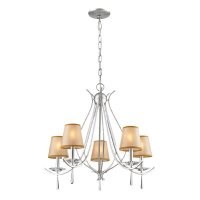 Freeport 5-Light Shaded Chandelier