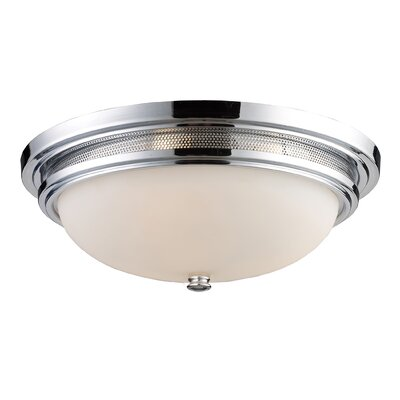 Vuelta 3-Light Flush Mount Finish: Polished Chrome