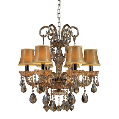 Luker 6-Light Crystal Chandelier