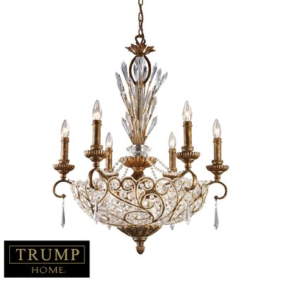 Maclennan 12-Light Crystal Chandelier