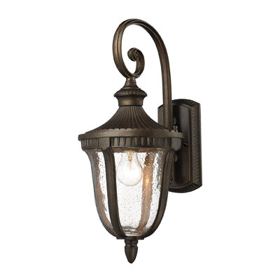 Worthington 1-Light Outdoor Wall lantern Height: 21
