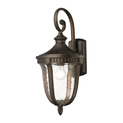 Worthington 1-Light Outdoor Wall lantern Height: 22
