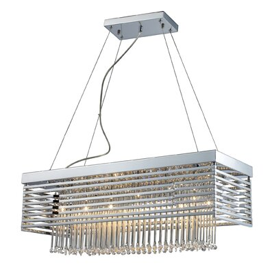 Cortina 12-Light Kitchen Island Pendant