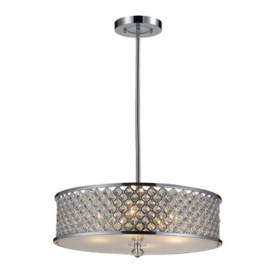 Freeport 4-Light Drum Pendant