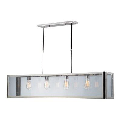 ELK Lighting Parameters-Nickel 4 Light Island Light in Polished Chrome 31213/4
