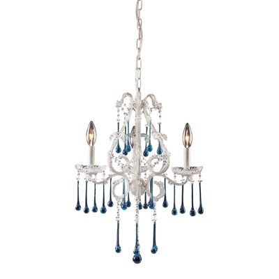Driffield Traditional 3-Light Crystal Chandelier