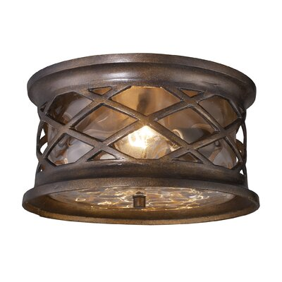 Barrington Gate 2-Light Outdoor Flush Mount