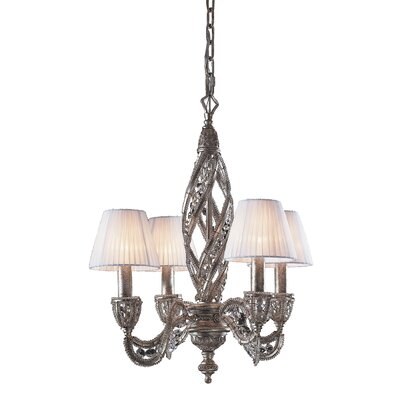 Jaidan 4-Light Shaded Chandelier