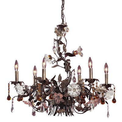 Lorraine 6-Light Candle-Style Chandelier