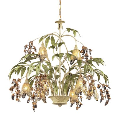 Evelyne 8-Light Crystal Chandelier