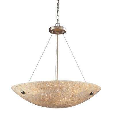 Velma 6-Light Inverted Pendant Finish: Satin Nickel