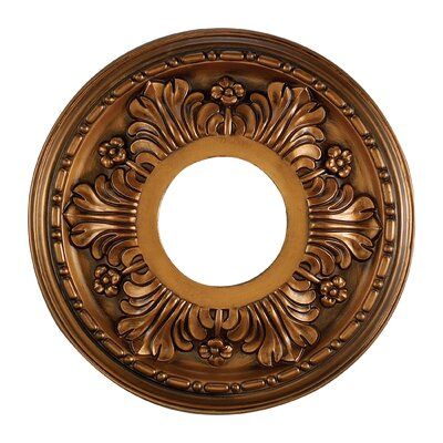 Acanthus Ceiling Medallion Finish: Antique Brass