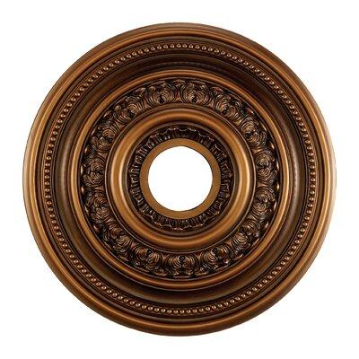 18 English Study Medallion Finish: Antique Bronze