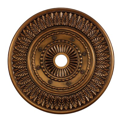 Corinna Ceiling Medallion Finish: Antique Brass