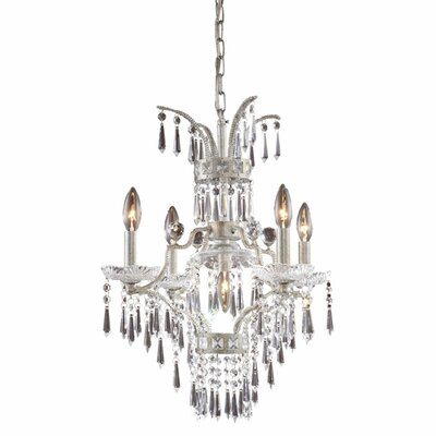 La Fontaine 5-Light Crystal Chandelier