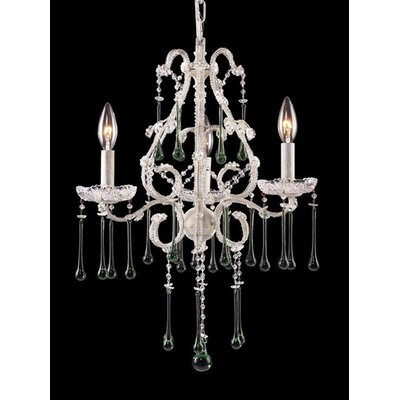Opulence 3-Light Crystal Chandelier