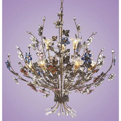 Brillare 9-Light Candle-Style Chandelier