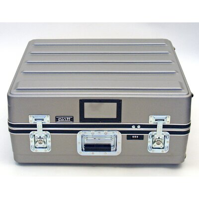 Platt Heavy-Duty ATA Case with Wheels and Telescoping Handle in Gray: 23 x 25 x 10 at Sears.com