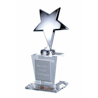 Star Glass Trophy Award 74006