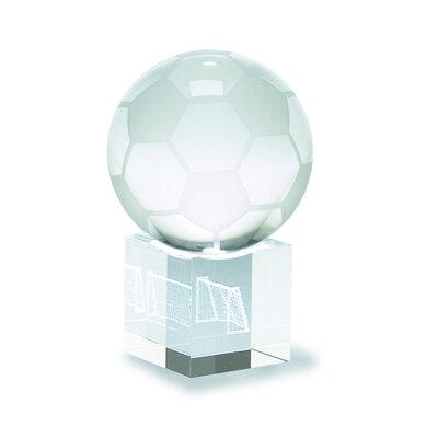 Soccer Ball and Goal 3D Laser Sport Award 885-036