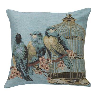 Urban Loft Birds Throw Pillow
