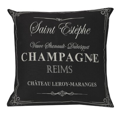 Urban Loft Champagne Throw Pillow