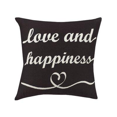 Urban Loft Love Happy Throw Pillow