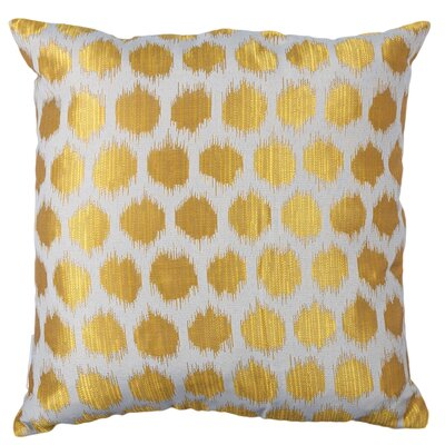 Urban Loft with Ocelot Throw Pillow Color: Gold