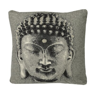 Urban Loft Buddha Face Throw Pillow