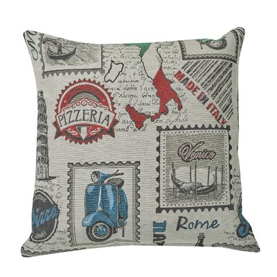 Urban Loft Pizzeria  Throw Pillow
