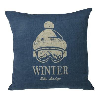 Urban Loft Winter Goggles  Throw Pillow