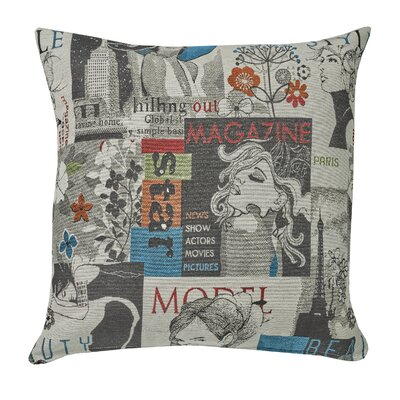 Urban Loft Magazine  Throw Pillow