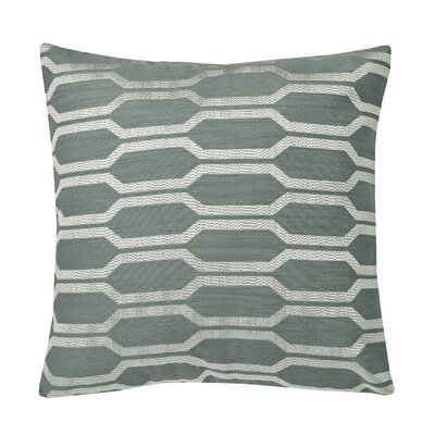 Urban Loft Hexagon Throw Pillow Color: Teal