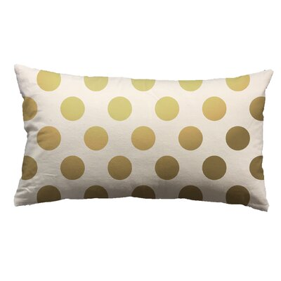 Urban Loft Foil Large Dots Throw Pillow
