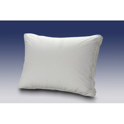Firm Cluster Fibre Boxed Edge Down and Down Alternative Pillow Size: King