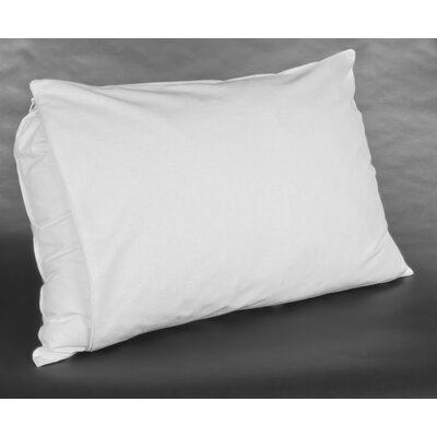 Pro-Shield Terry Waterproof Pillow Protector Size: Queen