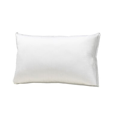 Hutterite Goose Down Around Down and Down Alternative Pillow Size: King