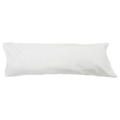Body Pillow Case Color: White
