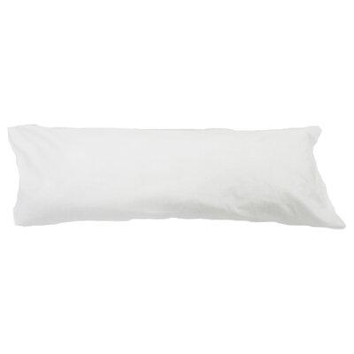 Body Pillow Case Color: White