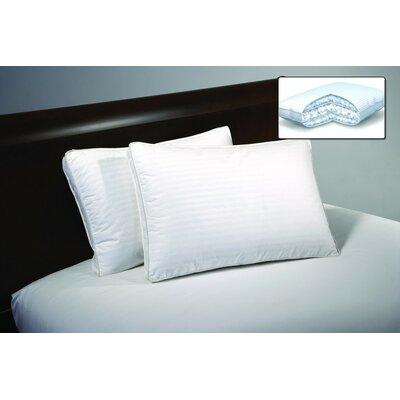 Triple Chamber Down and Down Alternative Pillow Size: Standard