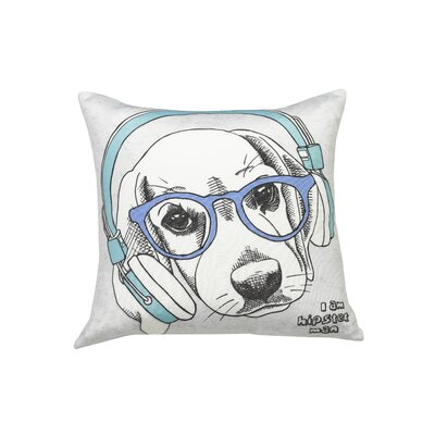 Urban Loft Dog Throw Pillow 20X20